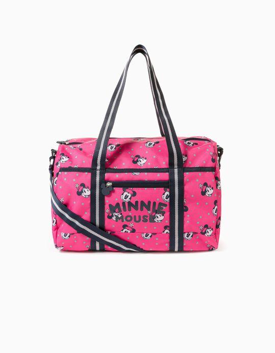 Sports Bag for Girls 'Pink Hat Minnie', Pink/Dark Blue