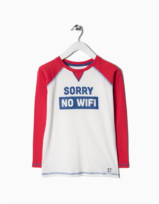 Camiseta de Manga Larga No Wifi