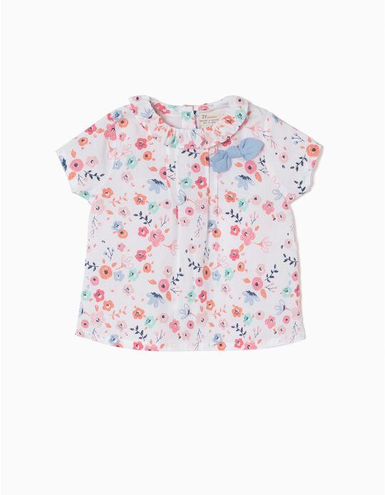 Blusa de Flores y Lacito