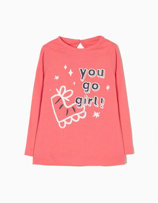 Camiseta de Manga Larga You Go Girl