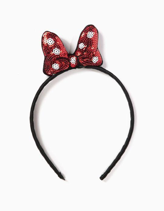 Diadema Lazo Minnie Mouse