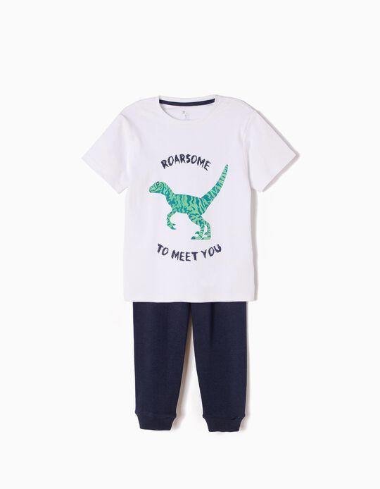 Pijama de Manga Corta y Pantalón Roarsome