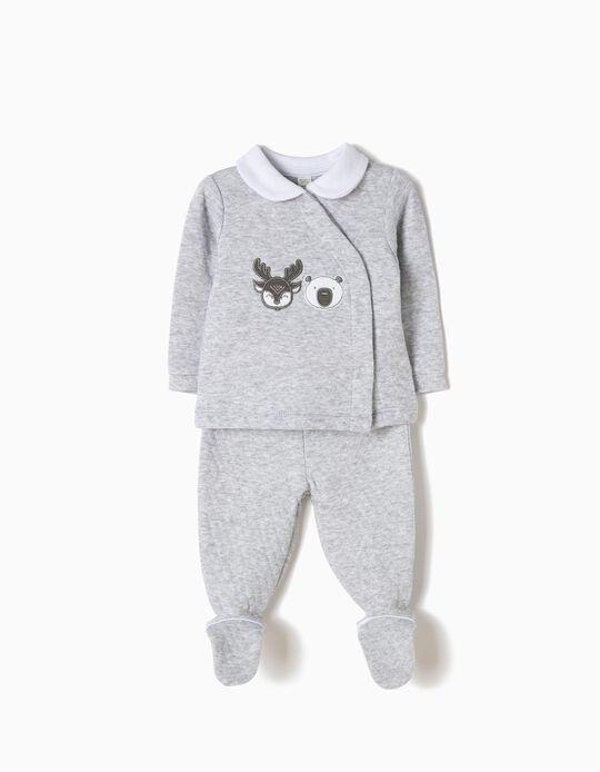 Pijama com Pés Moose & Bear