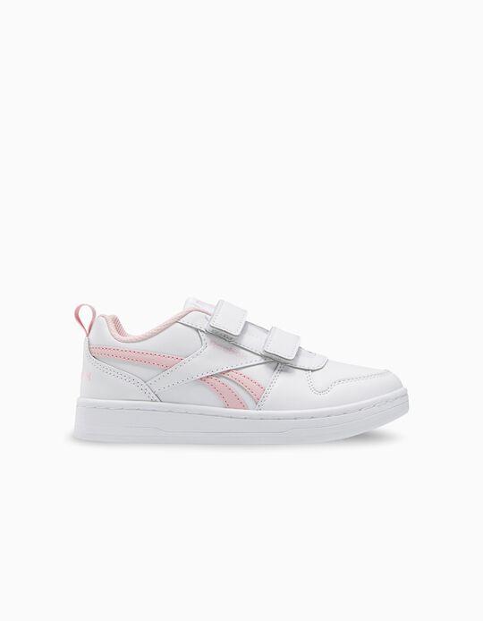 Zapatillas Reebok para Niña 'Royal Prime', Blanco/Rosa