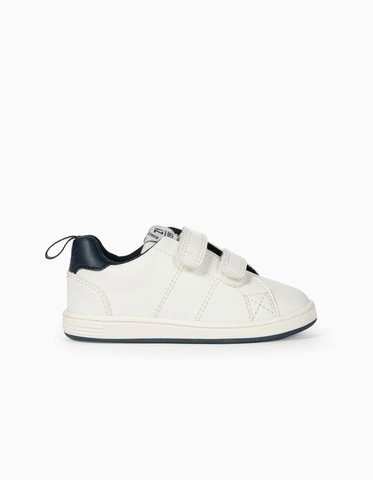 Trainers for Baby Boys 'ZY 1996', White/Dark Blue