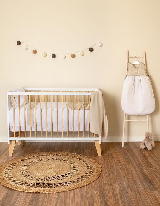 Cuna 3 en 1, 120x60 cm Zy Baby