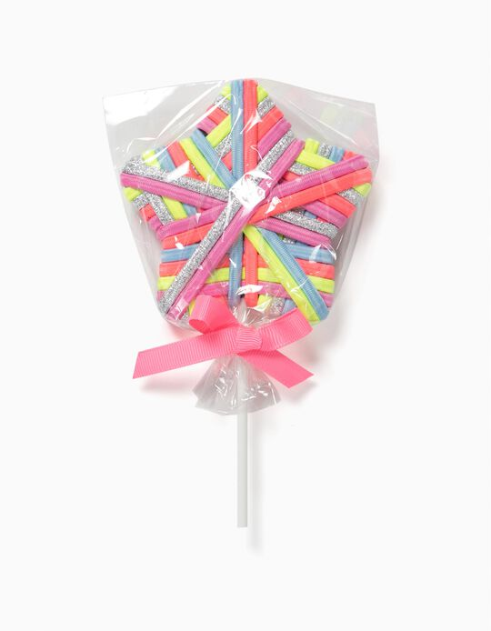 Pack of Elastic Bands, Lollipop