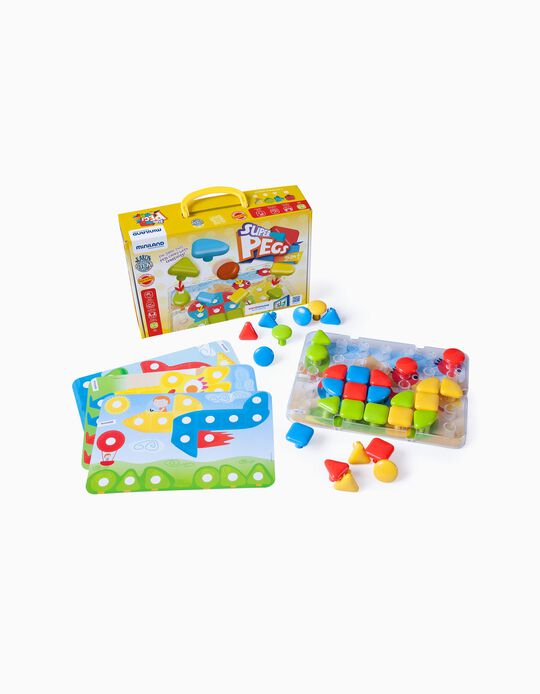 SuperPegs 24M+ by Miniland, 32 Pieces