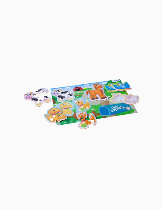 Flexi Form Animal Puzzles, 24M+, by Miniland
