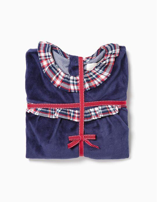 Pijama de Dos Materias para Niña