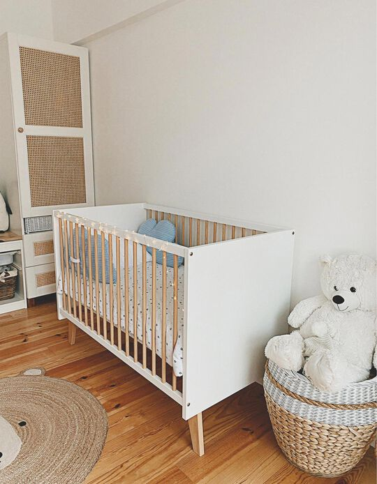 3-in-1 Cot, 120x60 cm by Zy Baby