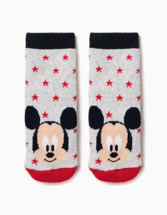 Meias Antiderrapantes Mickey