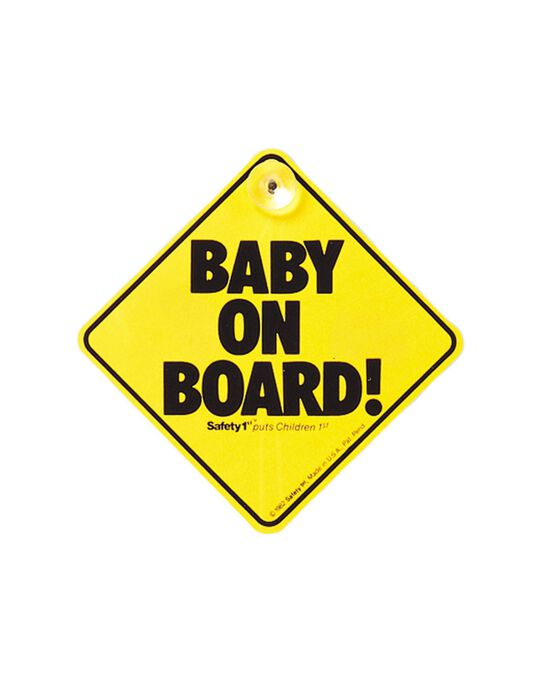 Sinal Baby On Board Safety 1St