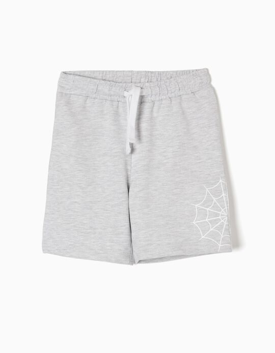 Short Deportivo Marvel Gris