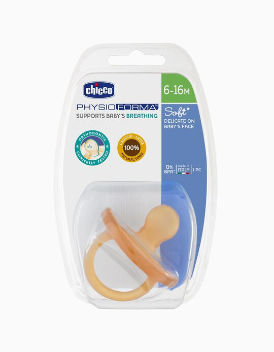 Sucette Physio Soft 6-16M Chicco