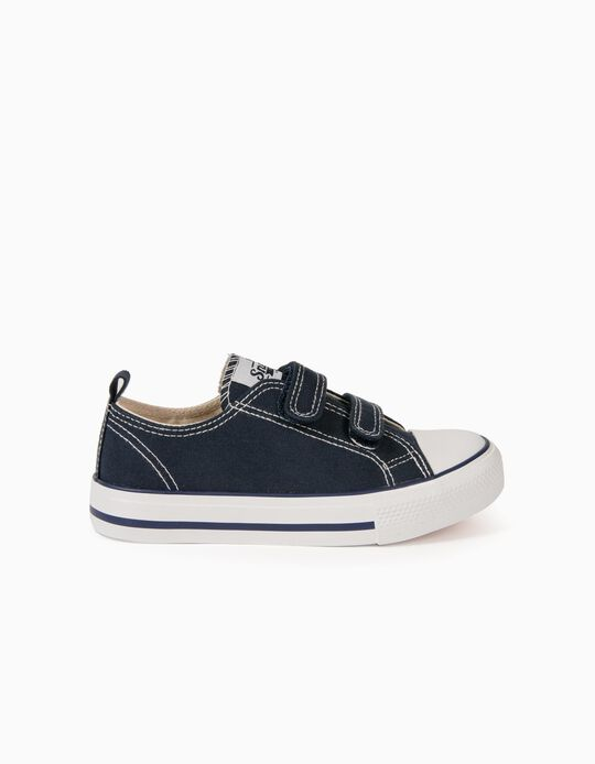 Trainers for Children, '50s Sneaker', Dark Blue