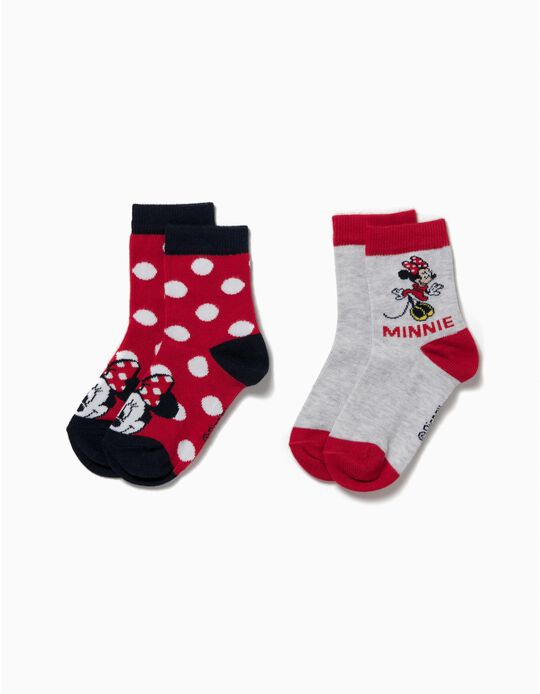 Pack 2 Pares de Calcetines Minnie