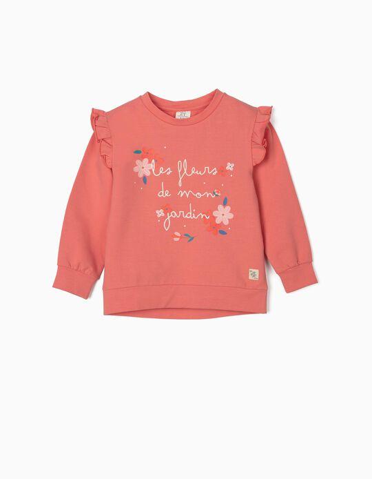 Sweatshirt para Menina, Rosa