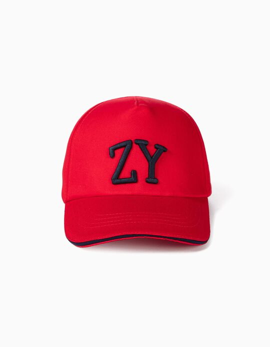 Cap for Boys 'ZY', Red