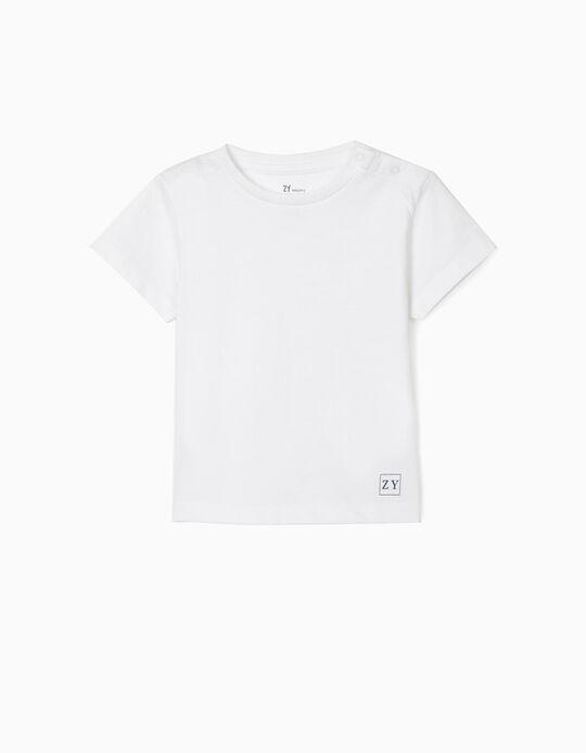 Camiseta Básica Blanca