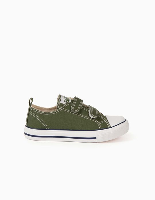 Trainers for Children, '50s Sneaker', Green