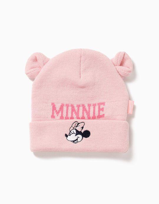 Gorro Rosa com Orelhinhas Minnie