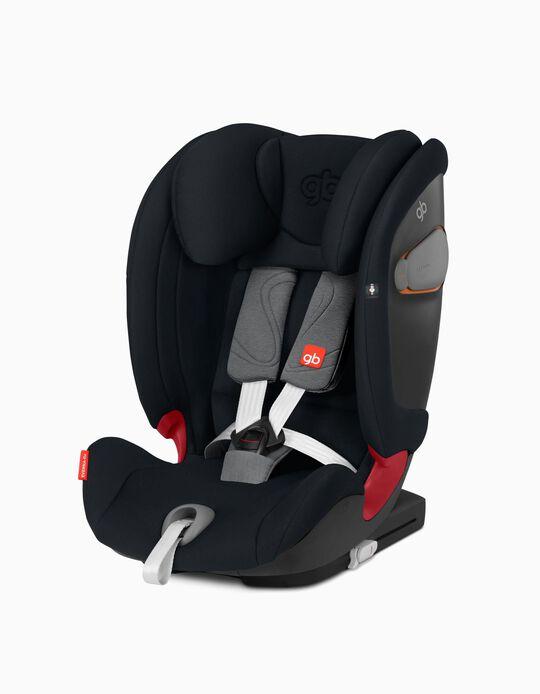 Car Seat Gr 1/2/3 Everna Fix, by GB, Velvet Black