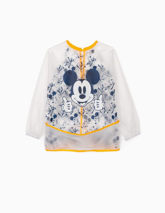 Waterproof Bib for Boys 'Mickey', Transparent/Yellow