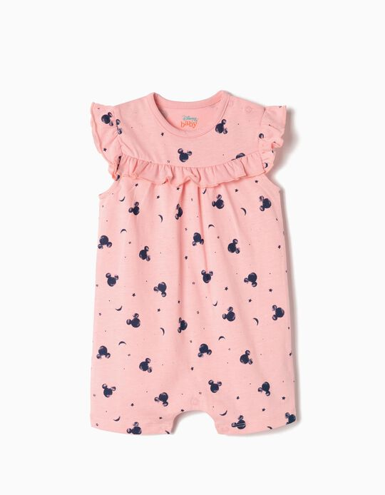 Babygrow para Bebé Menina 'Mickey', Rosa
