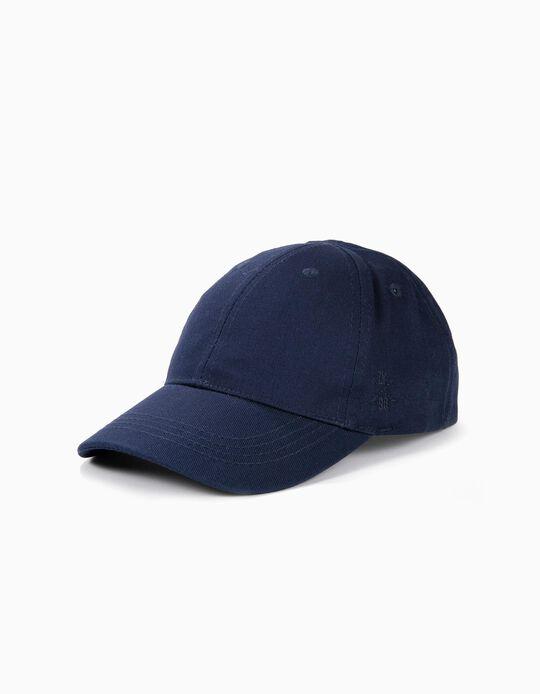Boné para Menino 'ZY 96', Azul Escuro