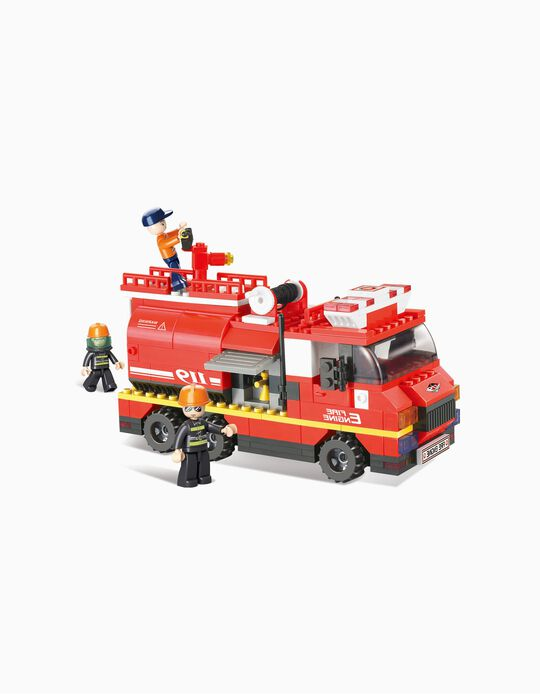 Fire Engine Sluban 281 pcs