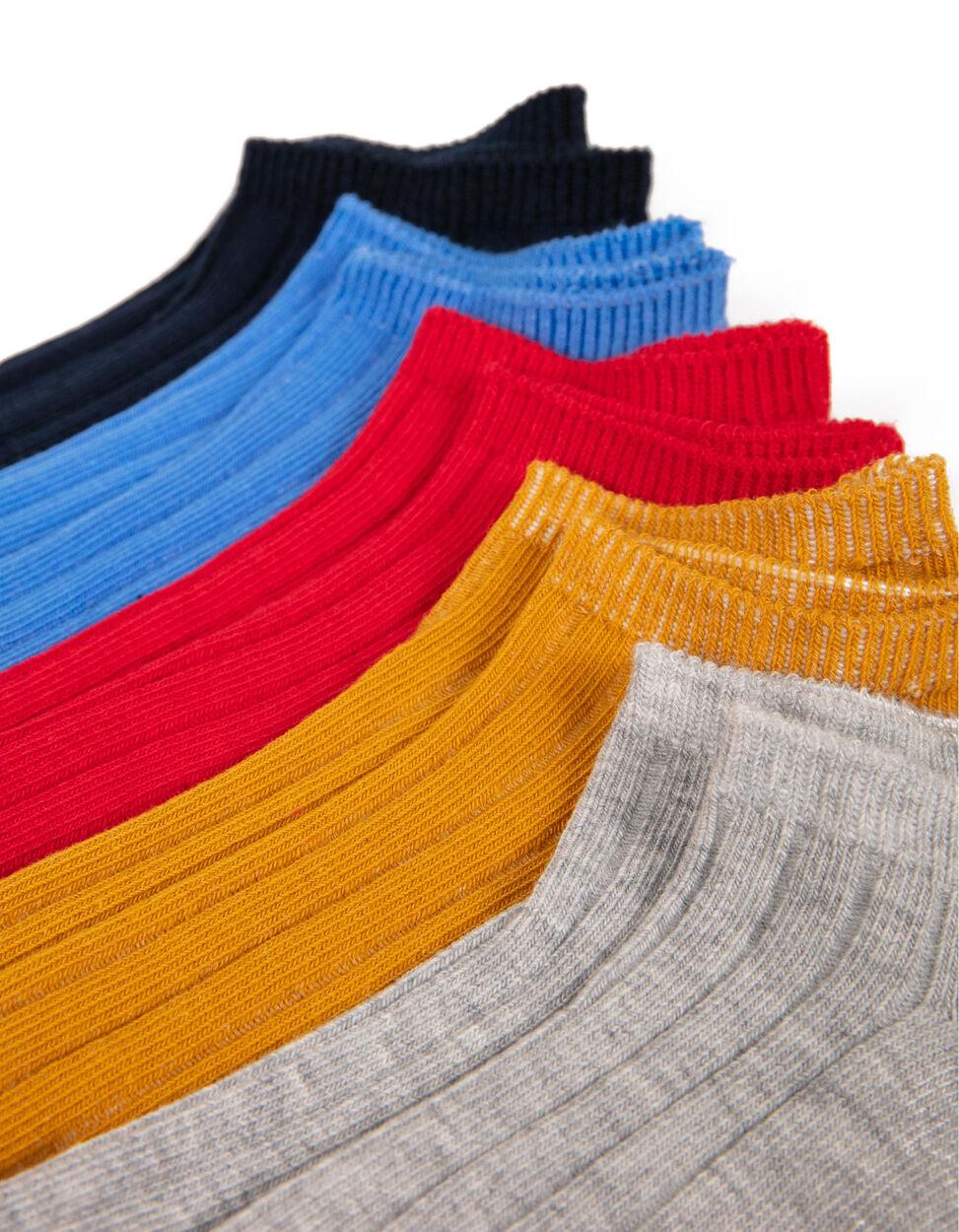 Pack 5 Pares de Calcetines Cortos de Canalé