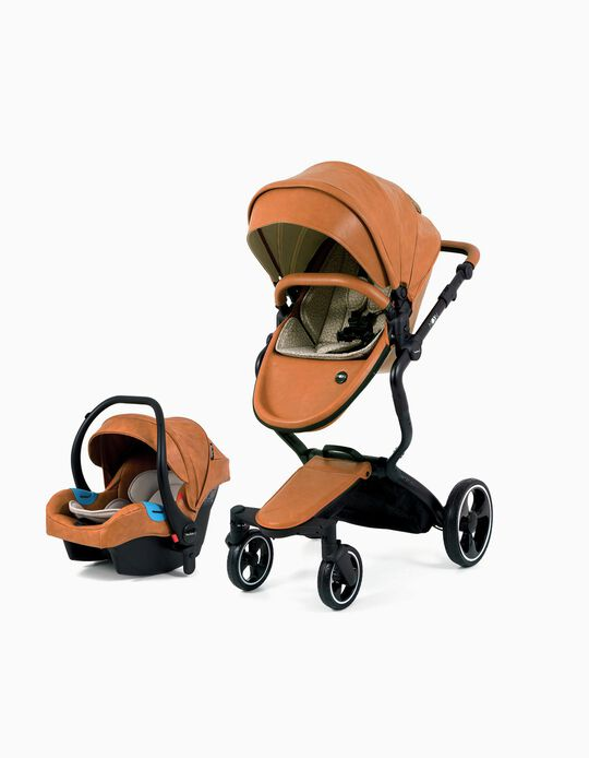 Travel System, Moon by MaxiBaby, Brown