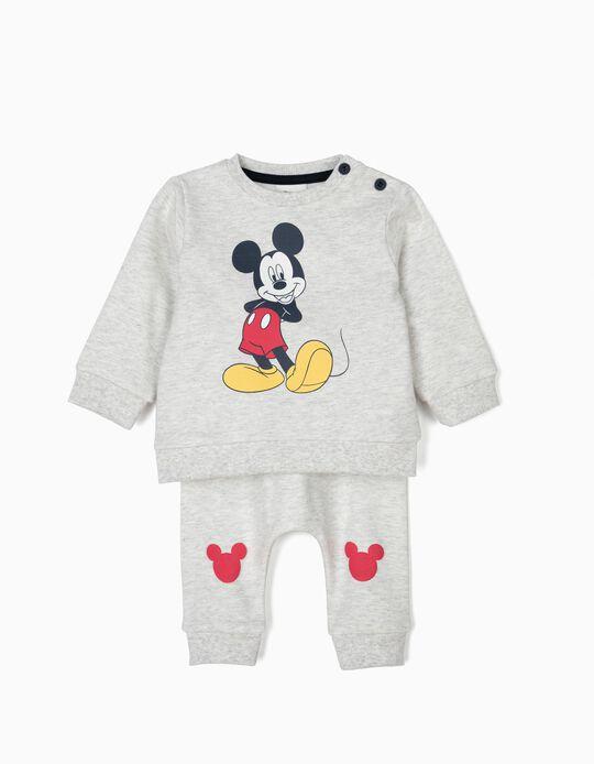 Fato de Treino para Recém-Nascido 'Mickey', Cinza