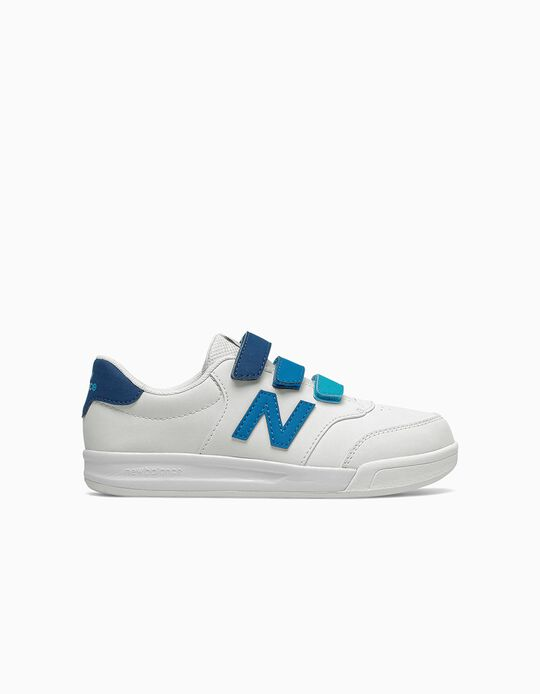 Trainers for Boys 'New Balance CT60', White/Blue
