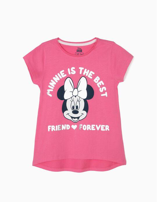 T-shirt para Menina 'Minnie BFF', Rosa