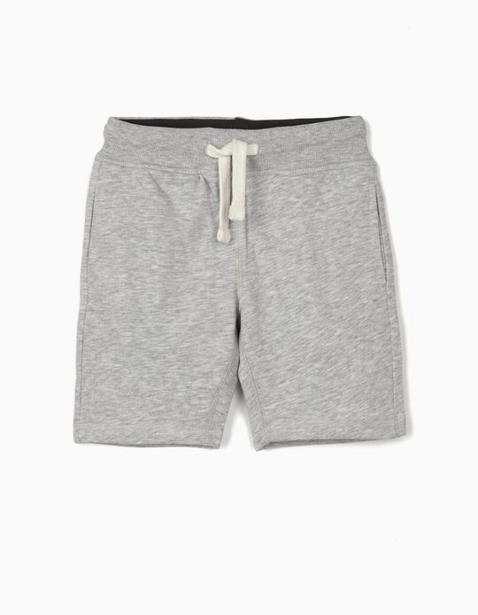 Sports Shorts for Boys, Grey