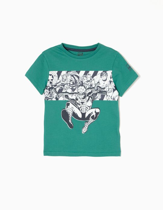 Camiseta Los Vengadores Verde