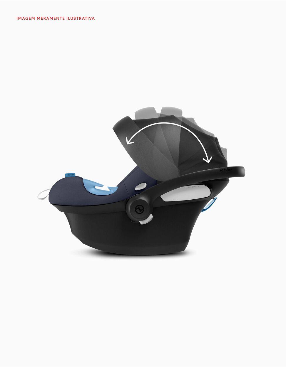 Silla para Coche I-Size Aton M Sensorsafe Cybex Soho Grey
