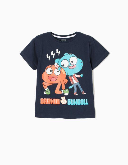 Camiseta Gumball Azul