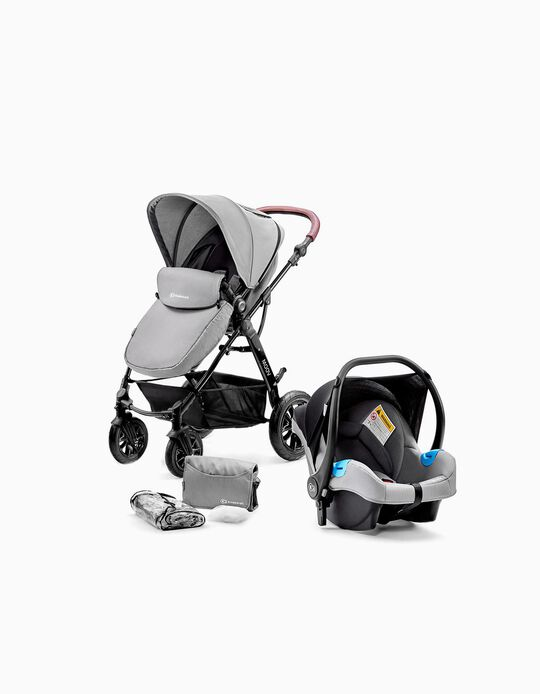 Moov Travel System by Kinderkraft, Grey