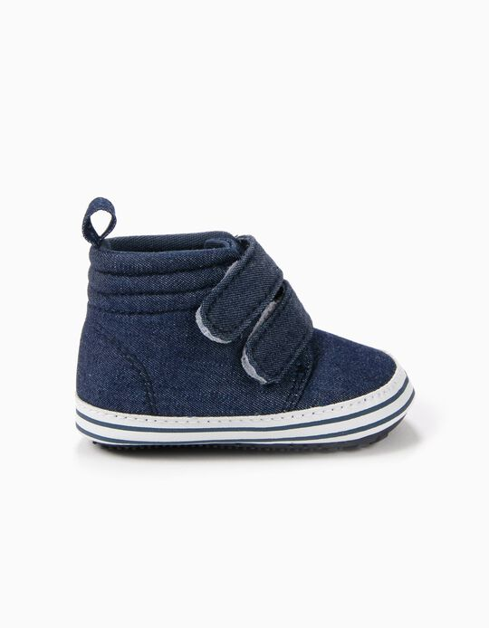 Zapatillas Pre-Walker Denim Oscuro