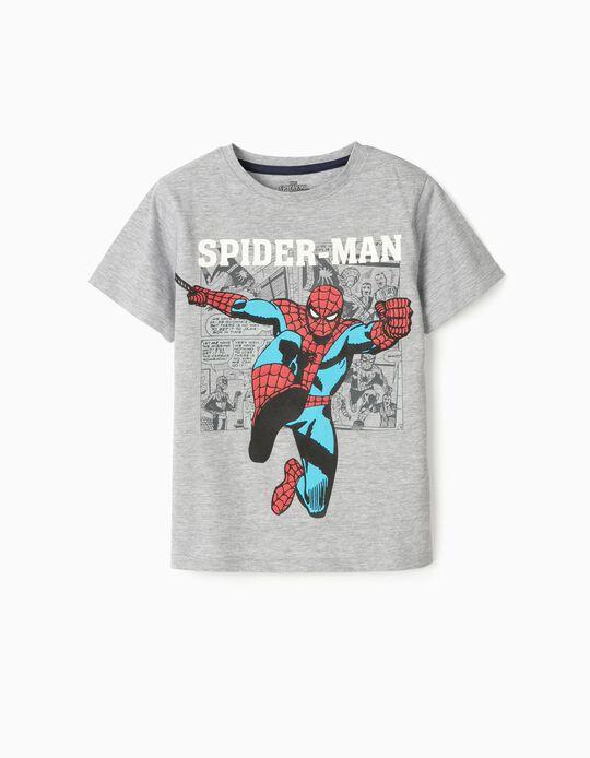 Camiseta para Niño 'Spider-Man', Gris