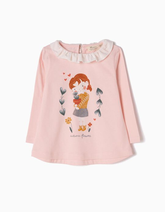 Camiseta de Manga Larga Autumn Flowers