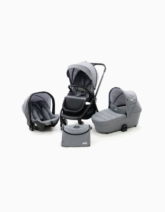 Travel System Trio Genius Asalvo Grey