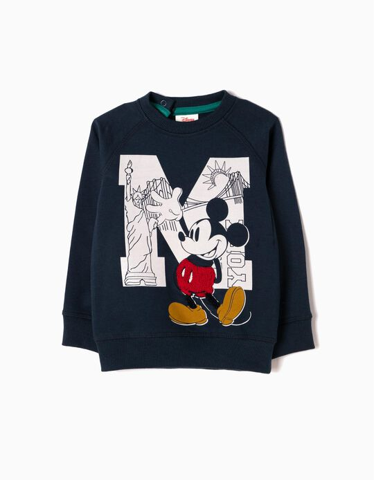 Sweatshirt Mickey Azul