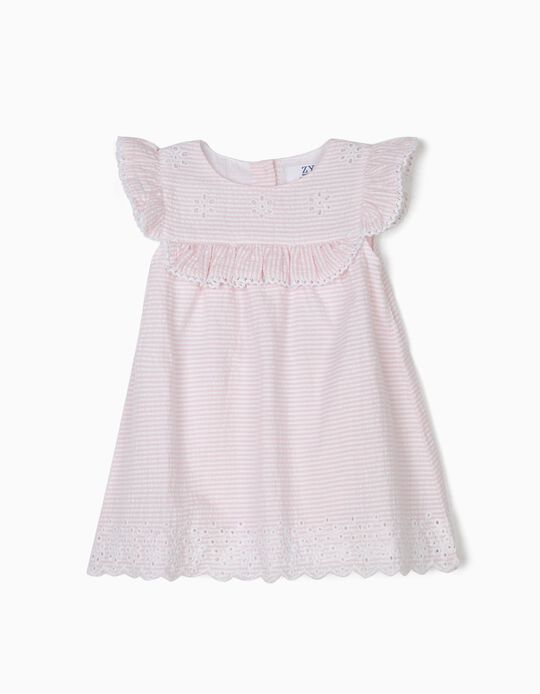Dress and Bloomers for Newborn Girls, Pink