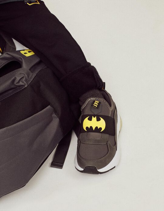 Sapatilhas para Menino 'Batman', Cinza Escuro