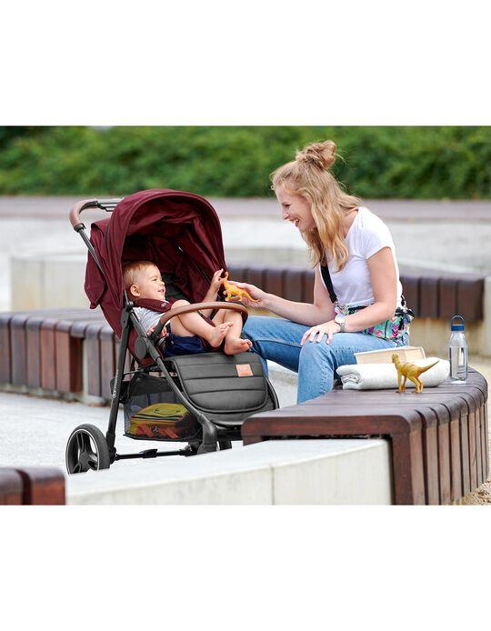 Silla de Paseo Grande 2020 Kinderkraft Burgundy