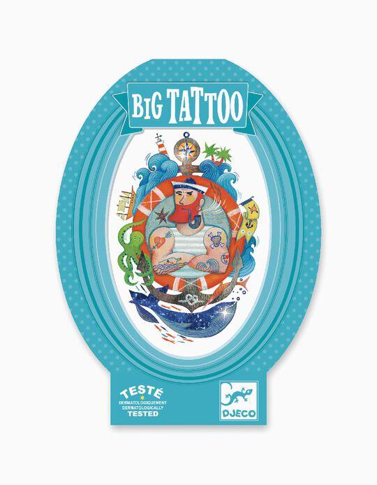 Big Tattoo Djeco Metal Sailor 6A+